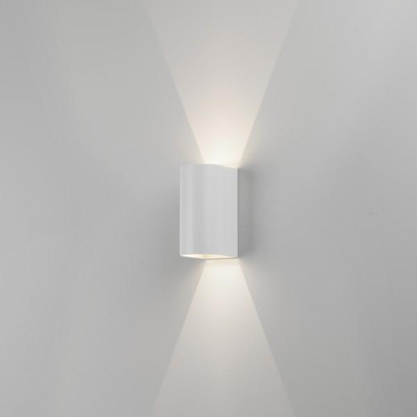 Astro Dunbar 160 White Outdoor LED Wall Light