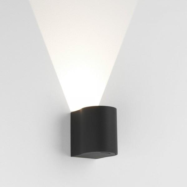 Astro Dunbar 100 Black Outdoor LED Wall Light
