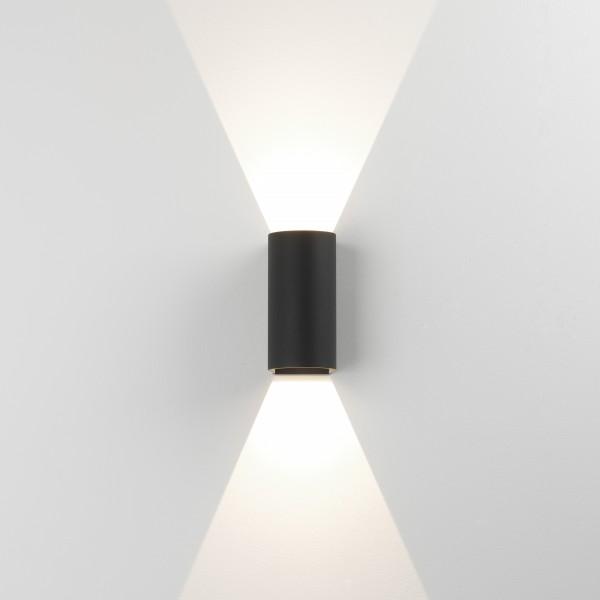 Astro Dunbar 160 Black Outdoor LED Wall Light