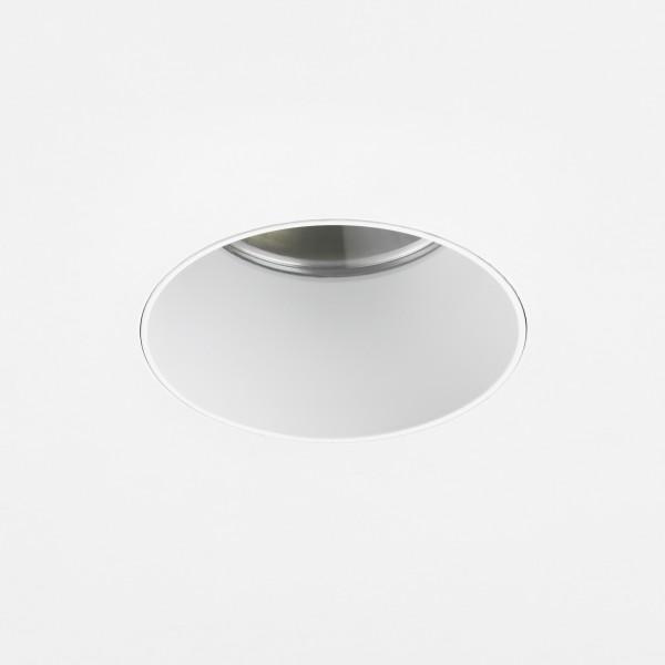 Astro Void Round 80 3000K Matt White Bathroom LED Downlight with 25° Beam, 80CRI
