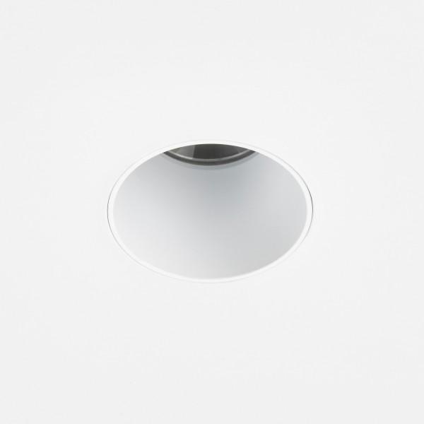 Astro Void Round 55 2700K Matt White Bathroom LED Downlight