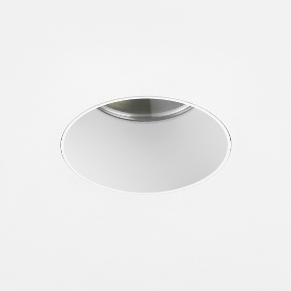 Astro Void Round 80 2700K Matt White Bathroom LED Downlight with 14° Beam, 93CRI