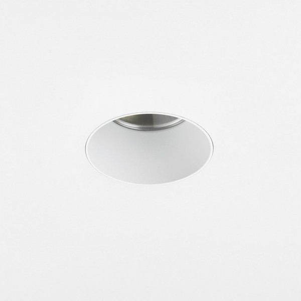 Astro Void Round 80 2700K Matt White Bathroom LED Downlight with 25° Beam, 80CRI