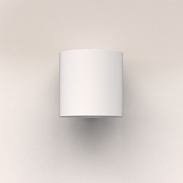 Astro Yuma 120 Textured White LED Wall Light