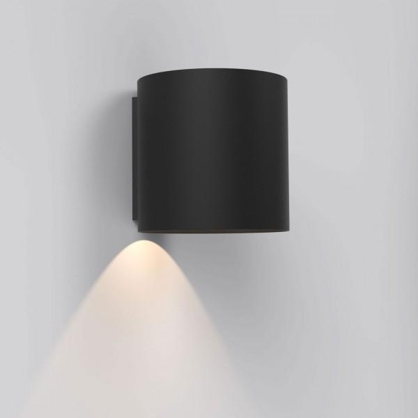 Astro Yuma 120 Textured Black LED Wall Light