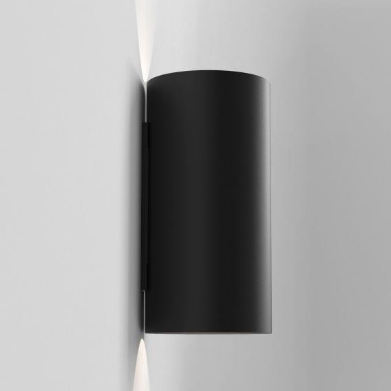Astro Yuma 240 Textured Black LED Wall Light