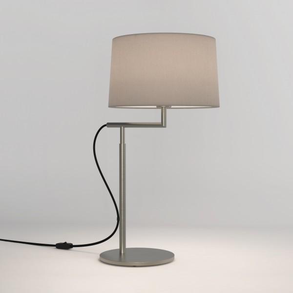 Astro Telegraph Matt Nickel Table Lamp
