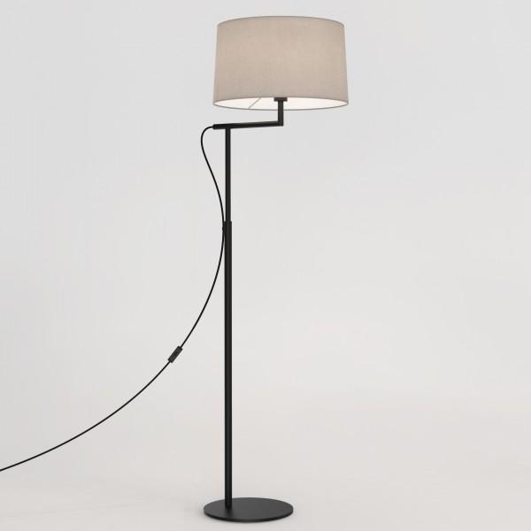 Astro Telegraph Matt Black Floor Lamp