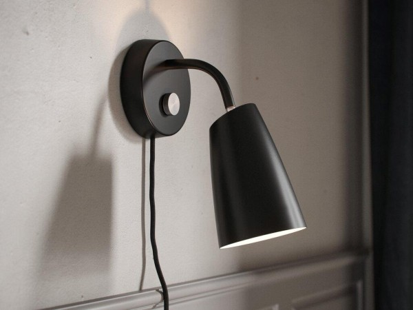 Nordlux DFTP 48211003 Sway Wall Light in Black
