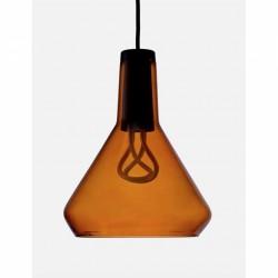 Plumen DCTAP Amber Glass Pendant Light Set