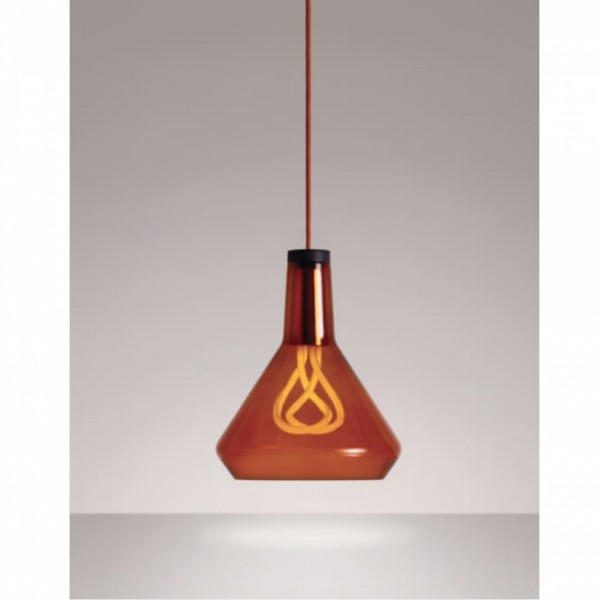 Plumen DCTAP Amber Glass Pendant Light Set