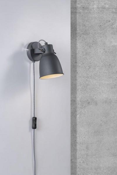 Nordlux 48801003 Adrian Black Wall Light