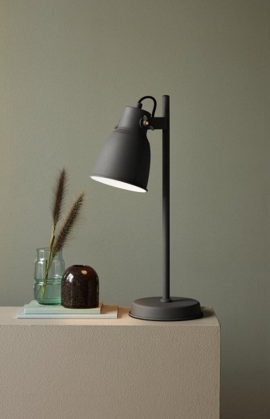 Nordlux 48815011 Adrian Grey Table Lamp