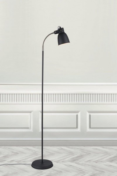 Nordlux 48824003 Adrian Black Floor Lamp