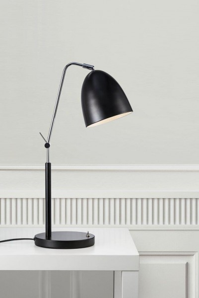 Nordlux 48635003 Alexander Black Table Lamp