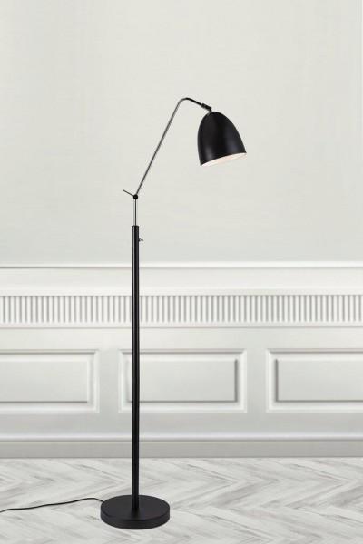Nordlux 48654003 Alexander Black Floor Lamp