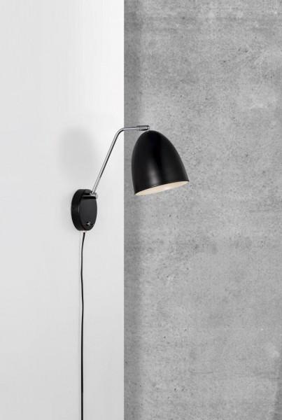 Nordlux 48621003 Alexander Black Wall Light