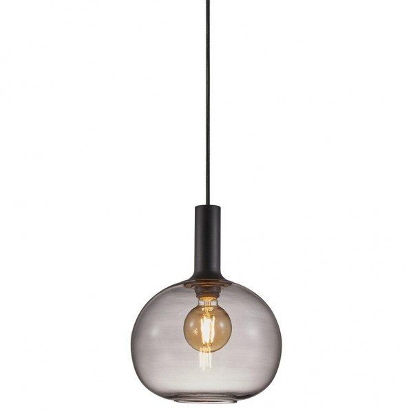 Nordlux 47313047 Alton 25 Black/Smoked Pendant Light