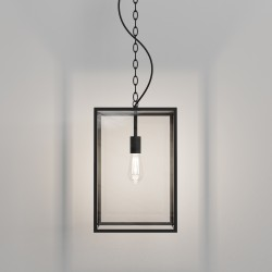 Astro 1095033 Homefield Pendant 450 in Textured Black