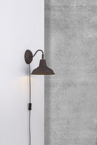 Nordlux 48491009 Andy Rusty Brown Wall Light
