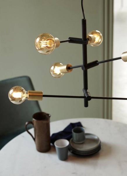 Nordlux 48933003 Josefine Brass Pendant Light
