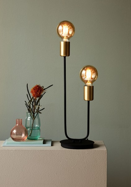 Nordlux 48955003 Josefine Brass Table Lamp