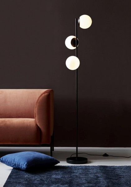 Nordlux 48613003 Lilly Black Floor Lamp