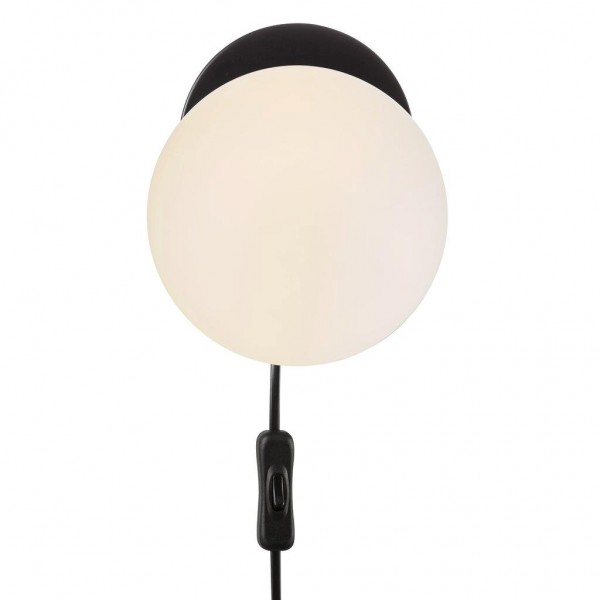 Nordlux 48891003 Lilly Black Wall Lamp