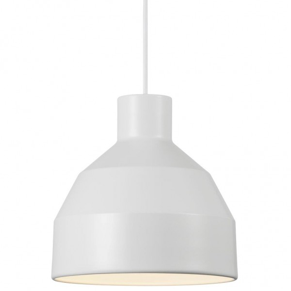 Nordlux 48443001 William 20 White Pendant Light