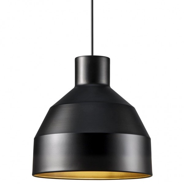 Nordlux 48453003 William 27 Black Pendant Light