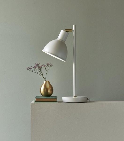 Nordlux 48745001 Pop Rough White / Brass Table Lamp