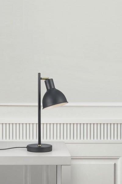Nordlux 48745011 Pop Rough Grey / Brass Table Lamp