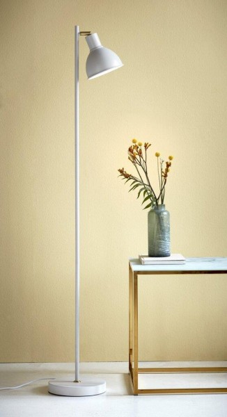 Nordlux 48754001 Pop Rough White - Brass Floor Lamp