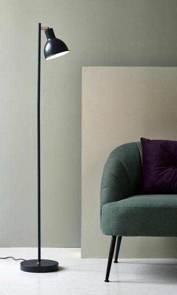 Nordlux 48754011 Pop Rough Grey / Brass Floor Lamp