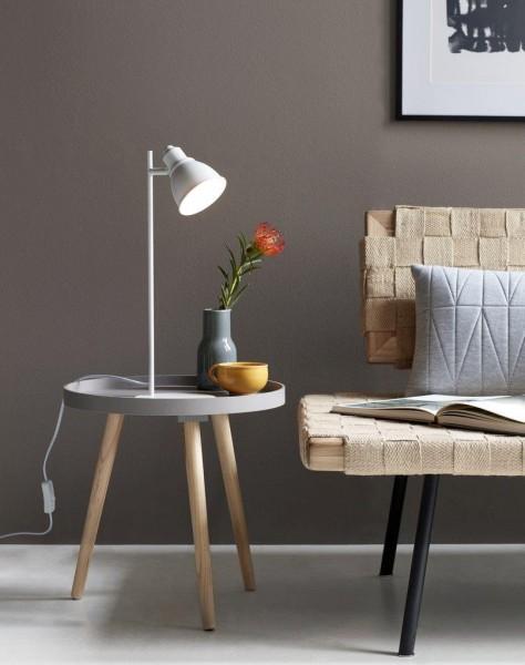 Nordlux 46665001 Mercer White Table Lamp