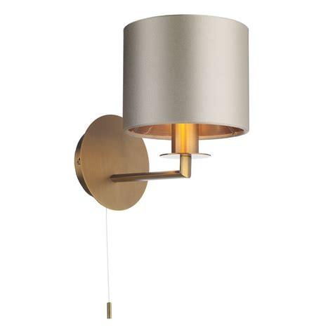 The Light Shade Studio REX0763 Rex Single Wall Light Bronze