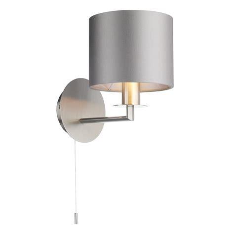 The Light Shade Studio REX0738 Rex Single Wall Light Satin Nickel