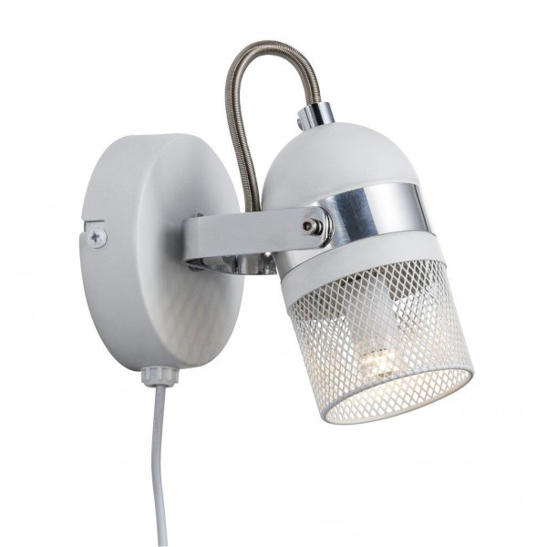 Nordlux 49881001 Agnes White Wall Light