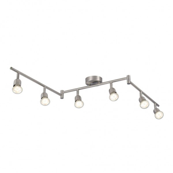 Nordlux 47490032 Avenue Brushed Steel Ceiling Light