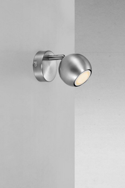 Nordlux 47440032 Chicago Brushed Steel Spot Light