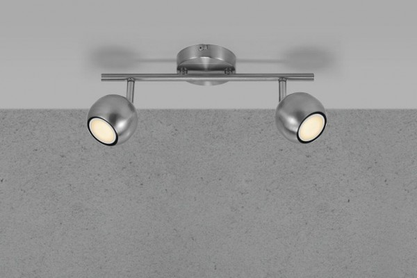 Nordlux 47450032 Chicago Brushed Steel Spot Light