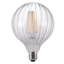 Nordlux Avra Stripes 2W 2200K Non-Dimmable E27 Clear LED Bulb