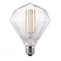 Nordlux Avra Diamond 2W 2200K Non-Dimmable E27 Clear LED Bulb