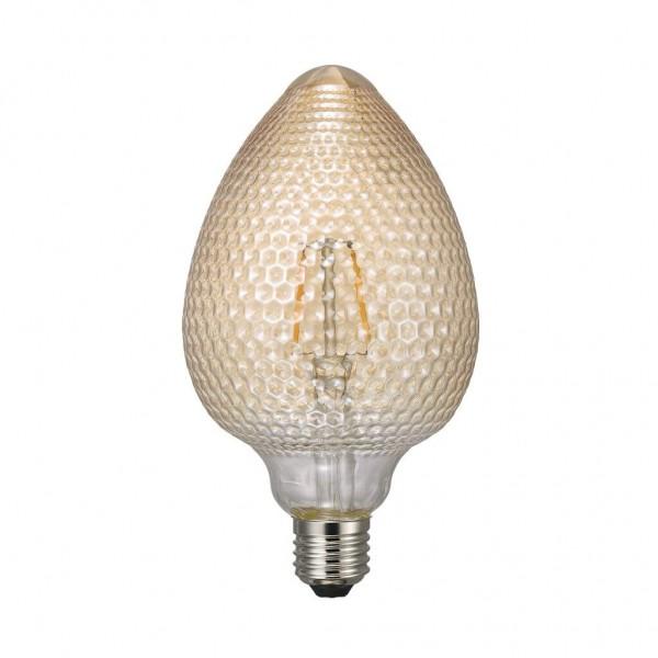 Nordlux 1440070 1.5w Avra LED Nut Filament Amber E27