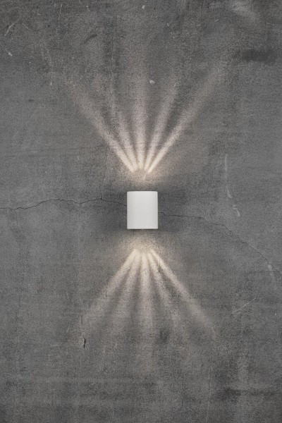 Nordlux 49701001 Canto 2 White Wall Light