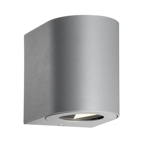 Nordlux 49701010 Canto 2 Grey Wall Light