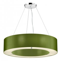 The Light Shade Studio POL0476 Polo 50cm 4 Light Pendant Olive Green
