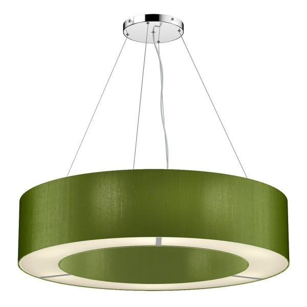 The Light Shade Studio POL0476 Polo 50cm 4 Light Pendant Olive Green