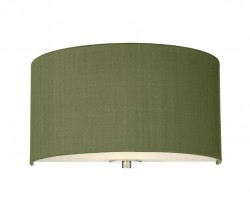 The Light Shade Studio REN0776 Renoir Wall Light Olive Green