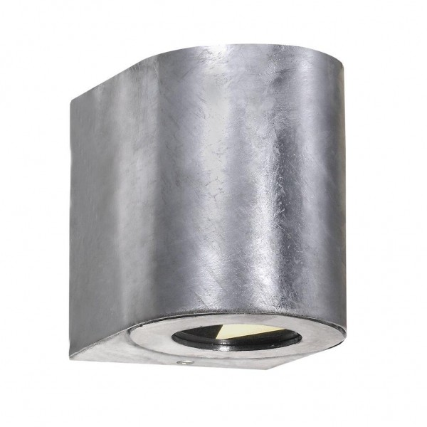 Nordlux 49701031 Canto 2 Galvanized Wall Light